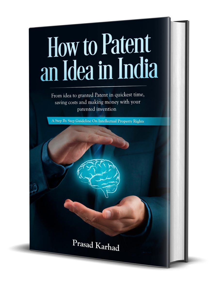 how to patent an idea in india book - patent in india platform